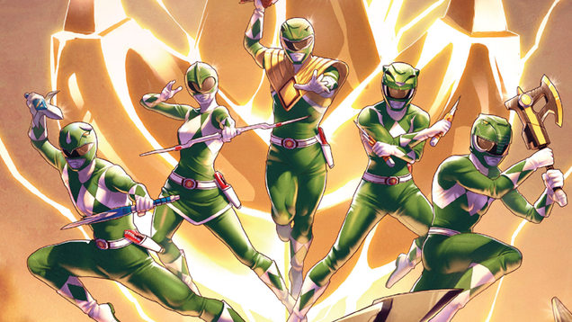 the power rangers comic series just did something totally crazy