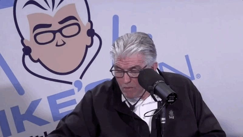 Big Sleepy Boy Mike Francesa Conks Out On The Air Yet Again