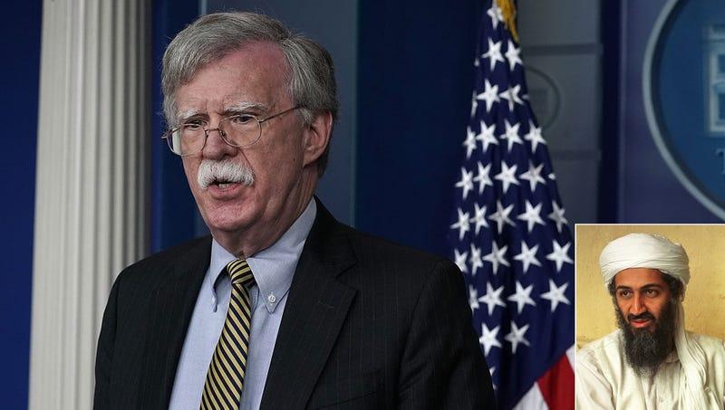 Illustration for article titled John Bolton Insists Iran Likely Harboring Dangerous Terrorist Osama Bin Laden