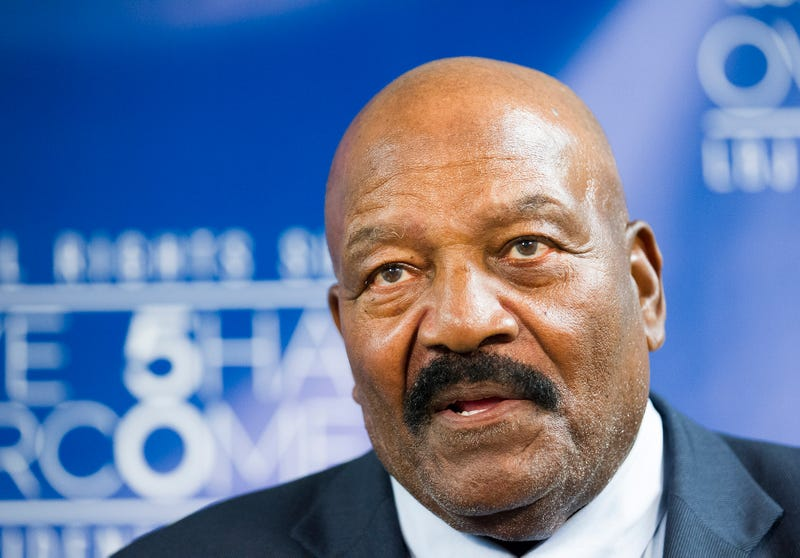 """Illustration for article titled Jim Brown Destroys """"Reprehensible"""" NCAA, Says """"Come At Me"""""""