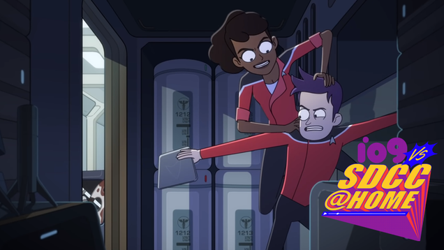 The First Clip From Star Trek: Lower Decks Introduces Our Motley Heroes
