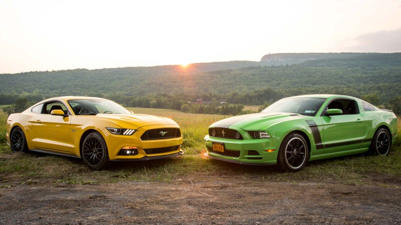 I Cant Decide Between A New Ford Mustang Gt Or An Old Boss 302