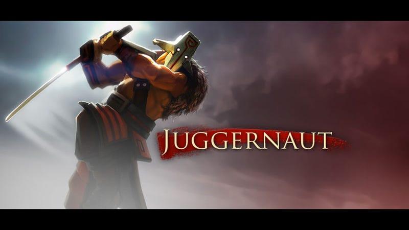 Illustration for article titled Here's DotA 2's Juggernaut