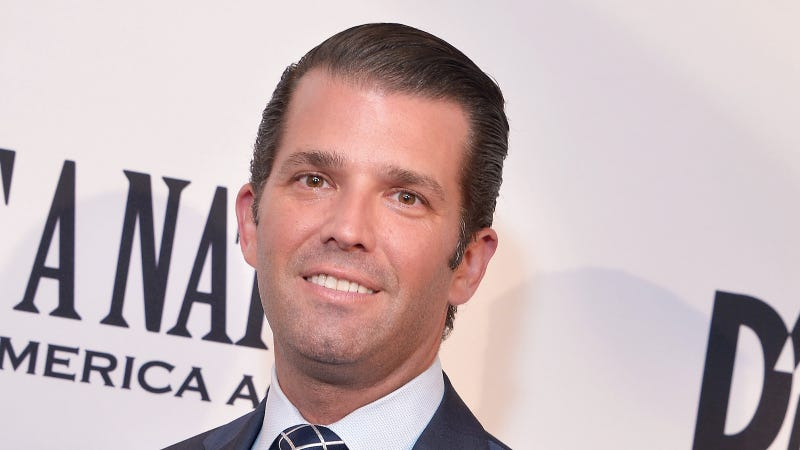 Illustration for article titled Don Jr. Is a One-Man Donald Trump Cover Band