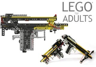 Illustration for article titled Working LEGO Gun Will Make You Shoot Bricks