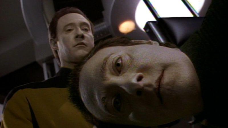 "Illustration for article titled Star Trek: The Next Generation: ""Descent: Part 2""/""Liasons."""