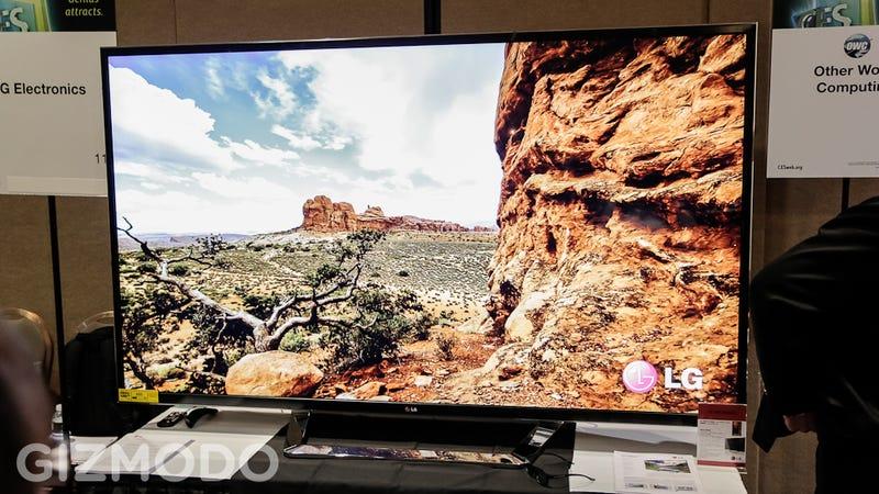 Illustration for article titled LG's New 84-Inch 4K 3D TV: Eyegasm