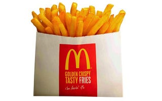 Illustration for article titled McDonald's Is Only Selling Small-Sized Fries in Japan