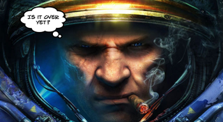 Illustration for article titled Pro StarCraft Player Suspended After Longest Match Ever