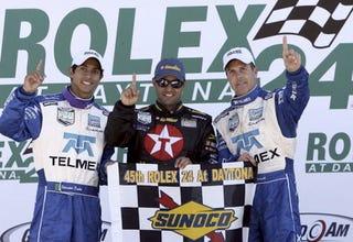 Illustration for article titled Montoya, Oh Boya: F1 Transplant, Team Wins Rolex 24 at Daytona
