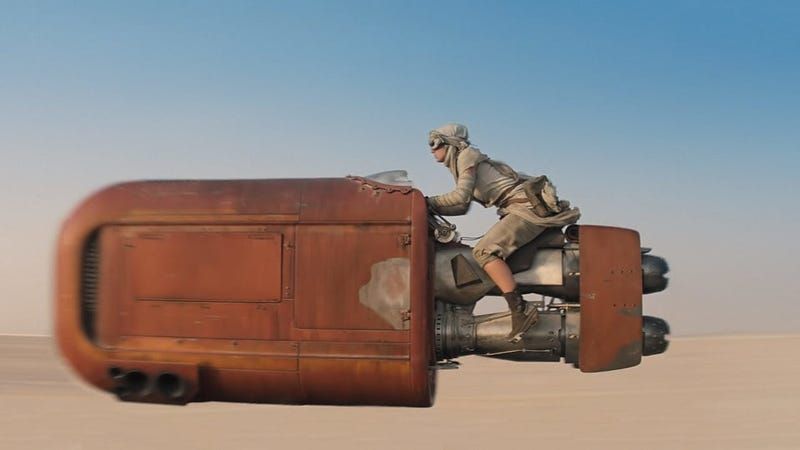 """It's Time To Recognize Rey's Speeder As The Most Awesome """"Car"""" In Star Wars"""
