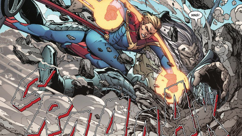 Carol Danvers lays the smack down in Infinity Countdown: Captain Marvel.