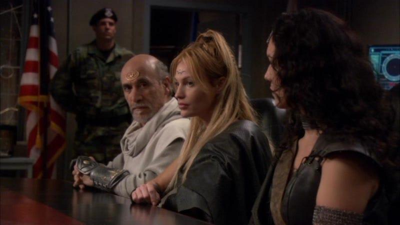 Illustration for article titled Stargate: SG-1 Rewatch - Season 8, Episode 9Sacrifices& Episode 10Endgame