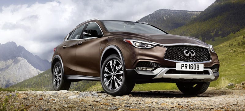 Illustration for article titled 2017 Infiniti QX30: This Is Your All-Wheel Drive Q30 Crossover