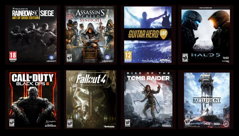 Illustration for article titled Los principales lanzamientos de videojuegos de otoño 2015, en una imagen