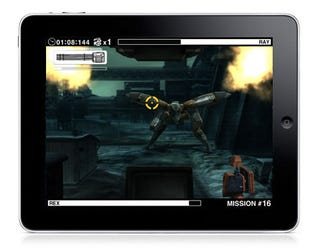 Illustration for article titled Metal Gear Solid Touches Down On iPad