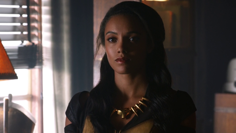 Don't give me that look, Amaya, you know what you did.