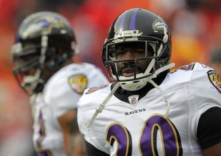 Baltimore Ravesn All-Pro safety Ed Reed