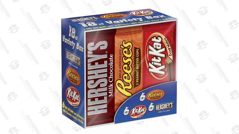 18-Pack Hershey's/Reese's/Kit-Kat Candy Bars | $7 | Jet