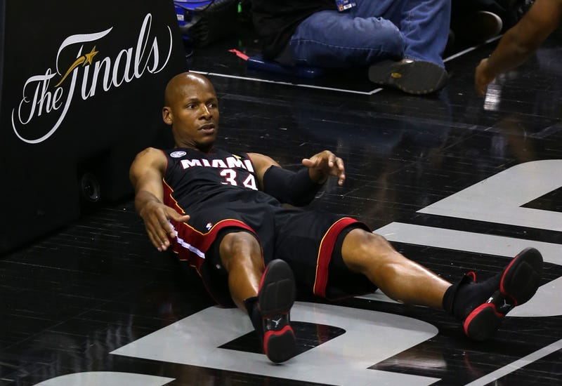 Ray Allen (Mike Ehrmann/Getty Images)