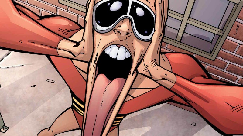 Plastic Man may be coming to the big screen.