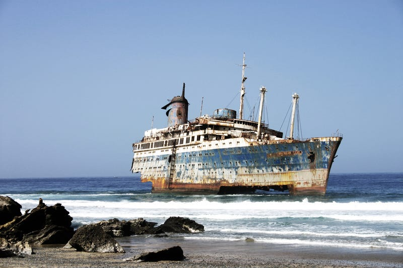 Illustration for article titled One of my greatest fears is abandoned ships.