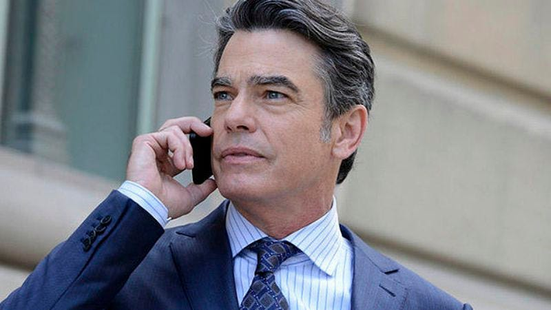 Peter Gallagher in The Good Wife