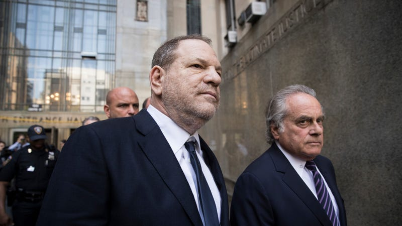 Illustration for article titled Prosecutors Drop One of Six Criminal Charges Against Harvey Weinstein