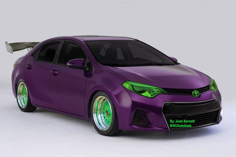 Illustration for article titled The 2014 Toyota Corolla is ready for SEMA