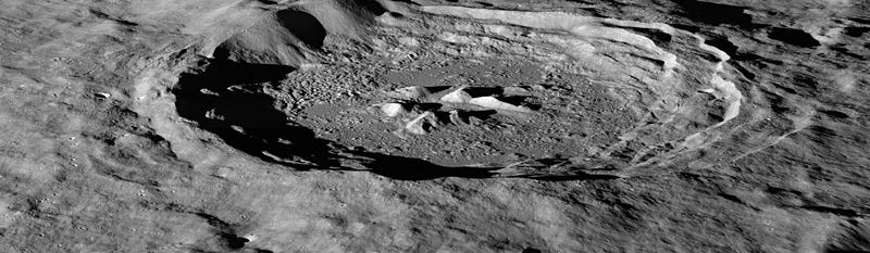 Illustration for article titled This Crater Is Our Best Shot At Finding Water On The Moon