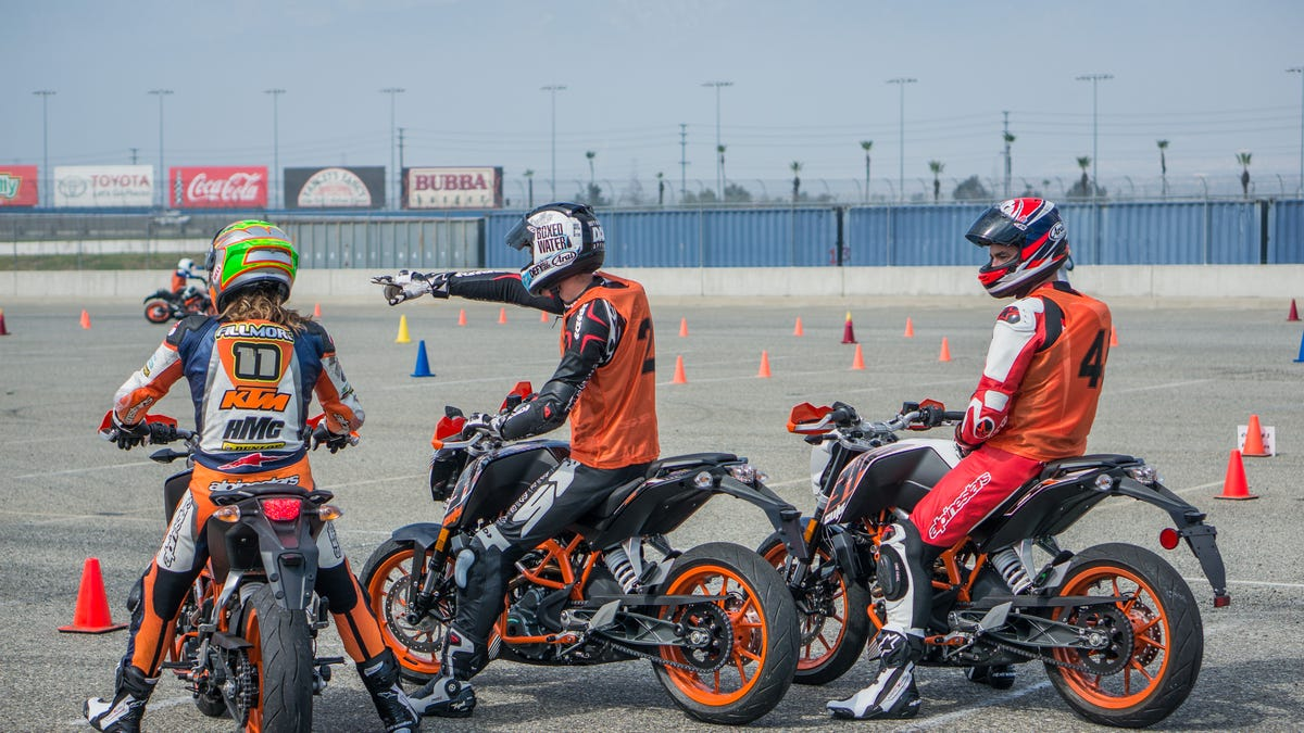 How To Go Really Slow Really Fast With Motorcycle Gymkhana