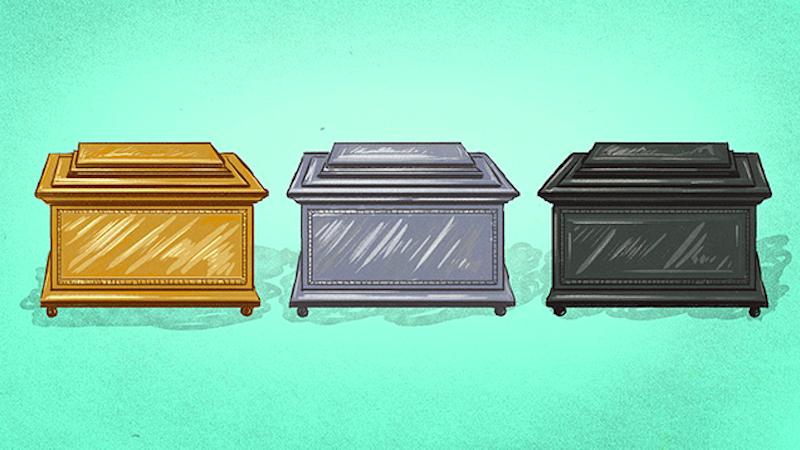 Tres cajas y dos mentiras forman un acertijo imposible de resolver