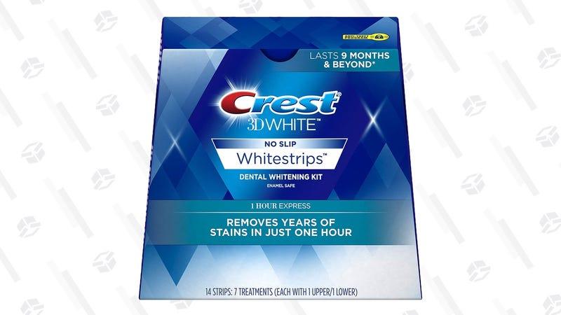 Crest 3D Whitestrips - Seven Express Treatment | $26 | Amazon