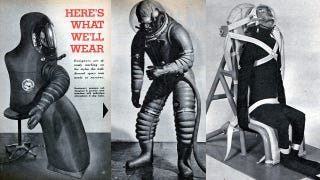 Illustration for article titled This is how we envisioned spacesuits back in the 1950s