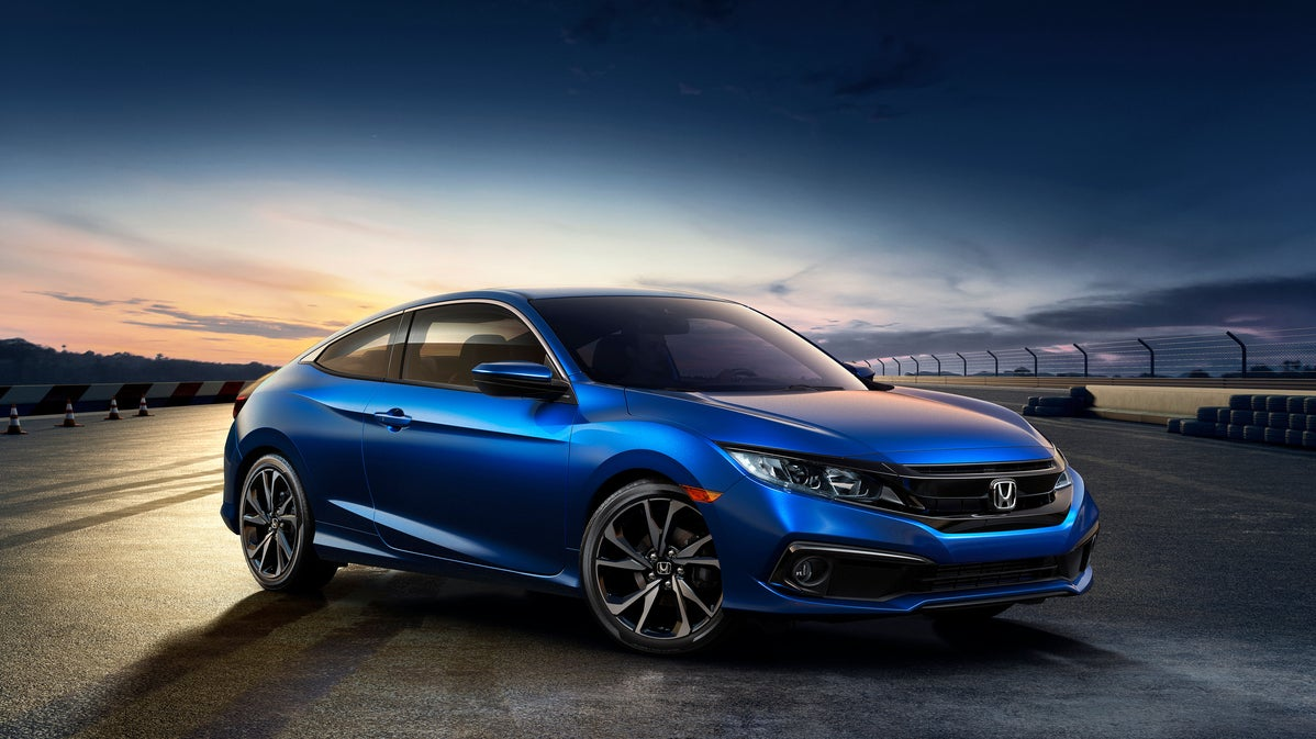 by the grace of god the 2019 honda civic sport gets a real