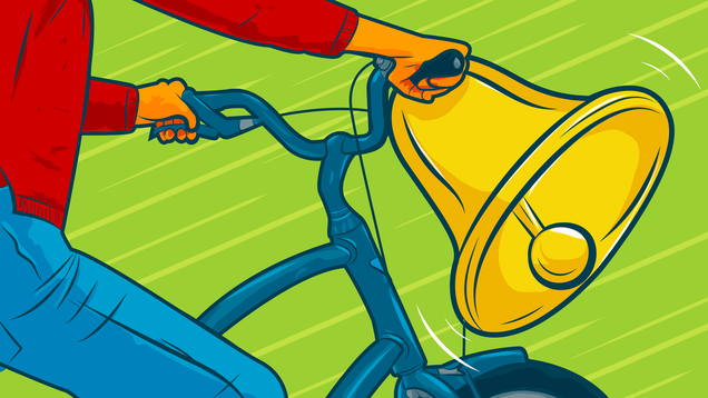 Put a Bell on Your Bicycle