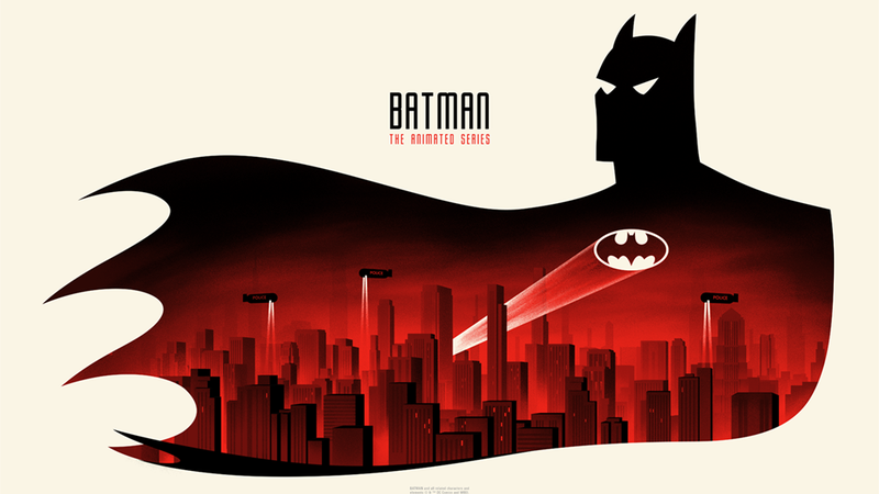 photo image 'The Best Batman of All' Takes the Spotlight in This Batman: The Animated Series Art Show