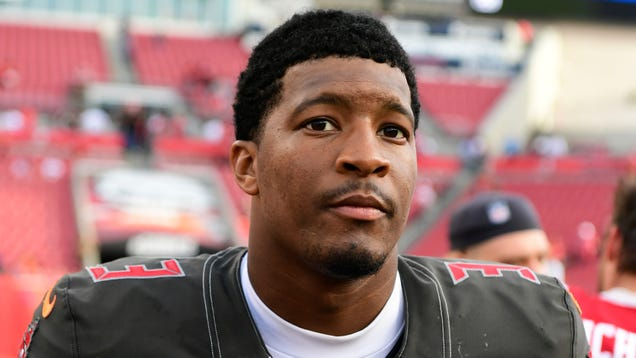 """f05ec53a02 Tampa Bay Buccaneers QB Jameis Winston has reached a settlement in the  lawsuit filed by a woman identified as """"Kate P."""