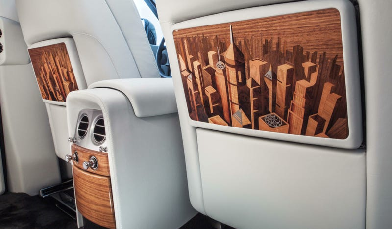 Illustration for article titled This $600K Rolls-Royce Has A City Carved Into Its Interior