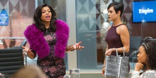 Cookie Lyon (left) played by Taraji P. Henson in EmpireFox