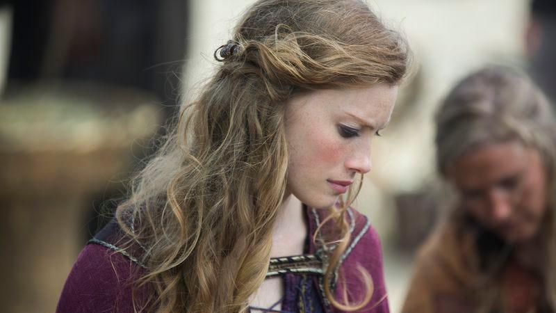 Alyssa Sutherland as Aslaug (History)