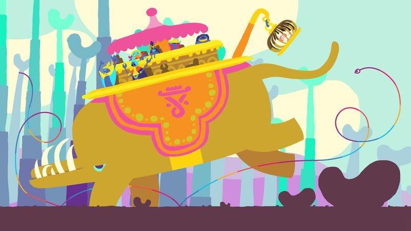 Illustration for article titled Hohokum's vibrant sandbox invites childlike play