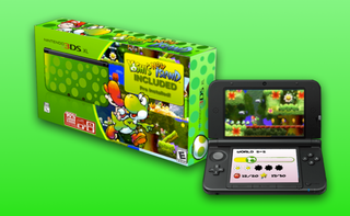 Illustration for article titled New Yoshi 3DS XL Spotted (GET IT?!)