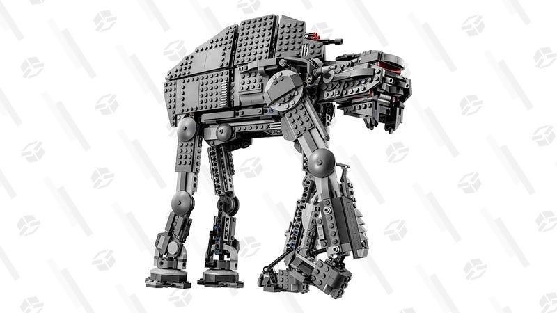 First Order Heavy Assault Walker Lego Set | $100 | Amazon