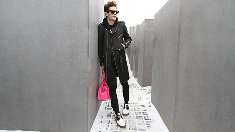 Illustration for article titled Fashion Blogger Super Inspired by Chic Holocaust Memorial in Berlin