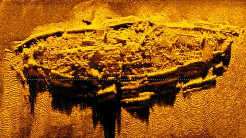 Illustration for article titled Rare Civil War-Era Shipwreck Discovered off the Coast of North Carolina