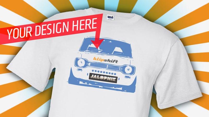 Illustration for article titled Design a T-Shirt for Jalopnik