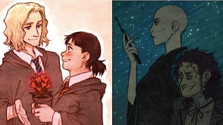 Illustration for article titled The Sex-Swapped Anime Version of Harry Potter That Never Existed