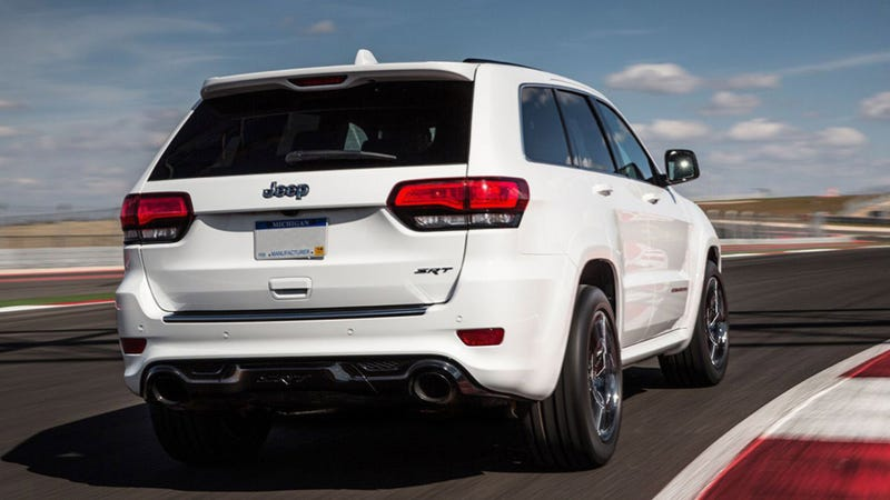 Illustration for article titled The Hellcat-Powered Jeep Trackhawk Will Be Very, Very Fast: Multiple Reports