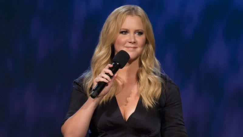 Illustration for article titled Win the HBO comedy special Amy Schumer: Live At The Apollo on DVD